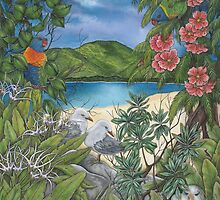 """""""Tropical Tranquility"""" by Jules Summers"""