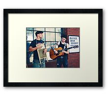 May's music Framed Print