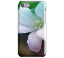 Wet and White iPhone Case/Skin