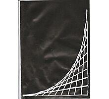 Black Parabolic Photographic Print
