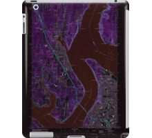 USGS Topo Map Washington State WA Gig Harbor 241271 1959 24000 Inverted iPad Case/Skin