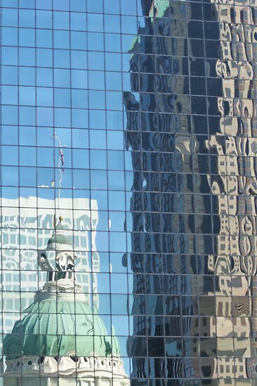St Louis Skyscraper Reflection by AnnDixon