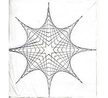 Parabolic Star Photographic Print