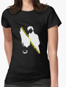 Sherlock Holmes/James Moriarty Womens Fitted T-Shirt
