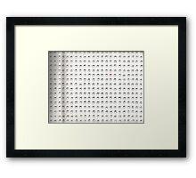 Endless Cube One Framed Print