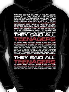 Teenagers Lyrical (My Chemical Romance) T-Shirt
