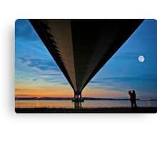 The Lone Photographer Canvas Print