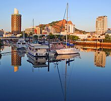Townsville City Sunrise - Queensland by Stephen  Nicholson