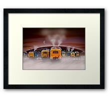 Napiers in the Mist Framed Print