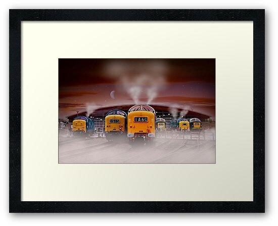 Napiers in the Mist by Martin Jones