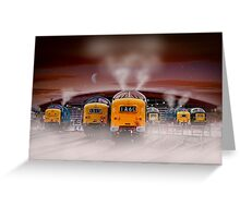 Napiers in the Mist Greeting Card
