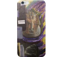 Absent Pharaoh iPhone Case/Skin