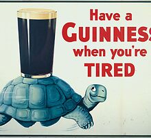 vintage Guinness beer ad by shakmati