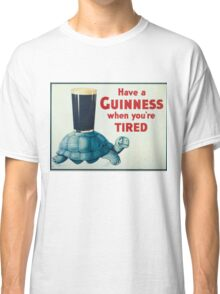 vintage Guinness beer ad Classic T-Shirt