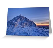 Snowdon Summit Greeting Card