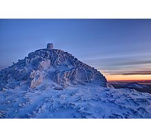 Snowdon Summit Photographic Print