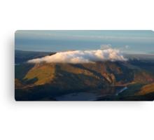 Mini Table Top Mountain Canvas Print