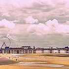 Central Pier, Blackpool by JacquiK