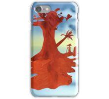 Red Island iPhone Case/Skin