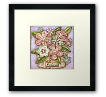 Believe Blossoms Framed Print