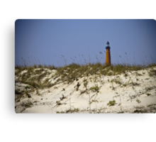 Beachview of Ponce Inlet Lighthouse Canvas Print