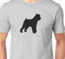 Brussels Griffon Silhouette(s) Unisex T-Shirt