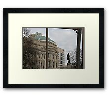Indiana Reflecting Framed Print