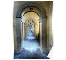 The Vasari Corridor Poster