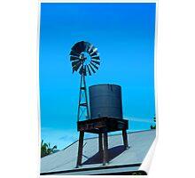 Water Pump - Kuranda, FNQ, Australia Poster