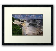 Iguassu Falls Framed Print