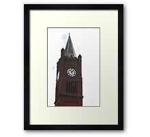 Union Steeple Framed Print