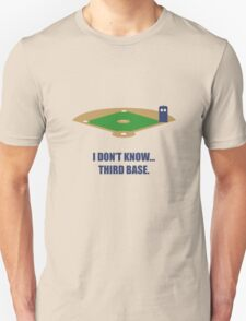 I Don't know. T-Shirt