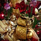Christmas Cherub by Douglas E.  Welch