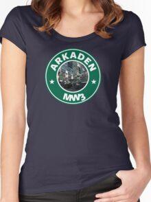 Arkaden Women's Fitted Scoop T-Shirt