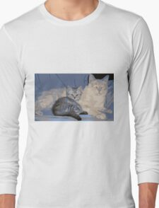 PAPA KITTY BABY KITTY Long Sleeve T-Shirt