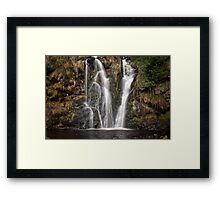 Posforth Gill waterfall Framed Print