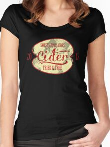 Sweet Apple Acres' Cider Women's Fitted Scoop T-Shirt