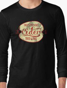 Sweet Apple Acres' Cider Long Sleeve T-Shirt