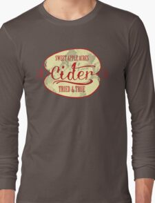 Sweet Apple Acres' Cider Long Sleeve T-Shirt