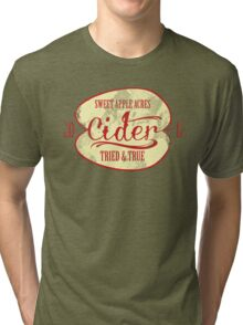 Sweet Apple Acres' Cider Tri-blend T-Shirt