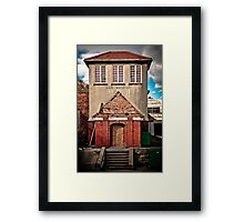 Sunbathing Pavilion, Scarborough Framed Print