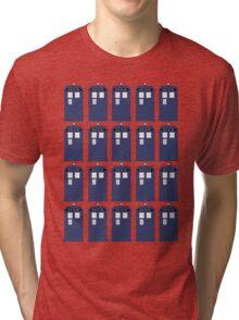 Plural TARDIS Tri-blend T-Shirt