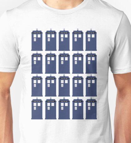 Plural TARDIS Unisex T-Shirt
