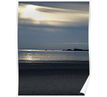 Llanwyddyn Island, Anglesey Poster