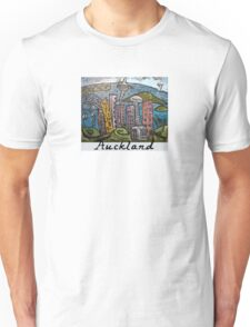 Auckland in pen and ink Unisex T-Shirt