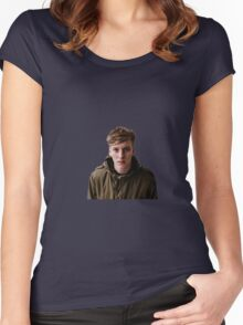 George Ezra Women's Fitted Scoop T-Shirt