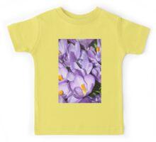 Violet Blossoms Kids Tee