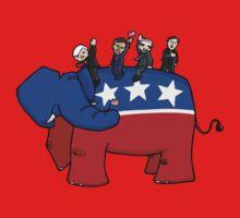GOP Elephant Kids Tee