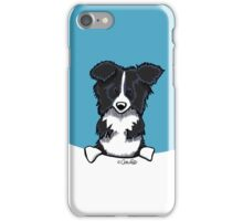 Peeking Border Collie iPhone Case/Skin