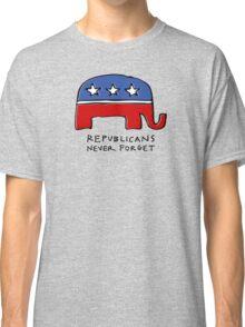 Republicans Never Forget Classic T-Shirt